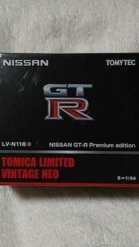 トミカ リミテッド ヴィンテージネオ  LV-N116 ニッサンGT-Rプレミアムエディション