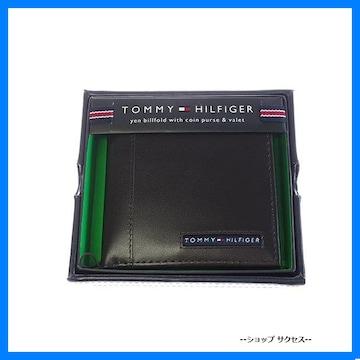 新品 即買■トミー ヒルフィガー折財布 31TL25X023-200 ブラウン