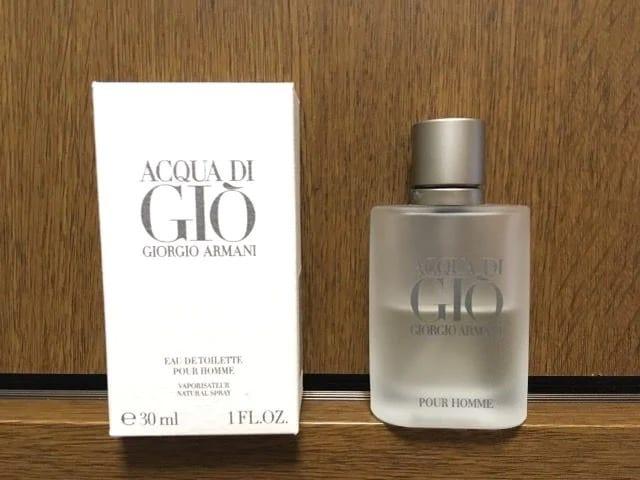 ジョルジオ・アルマーニ香水ACQUA DI GIOアクアディジオ30ml  < ブランドの