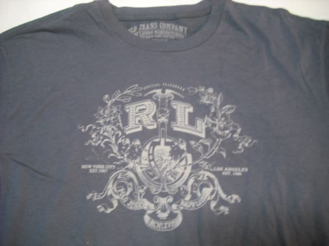 09 男 ラルフローレン 半袖Tシャツ XL < ブランドの