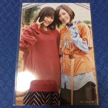 AKB48 渡辺麻友 松井珠理奈 特典 生写真 SKE48