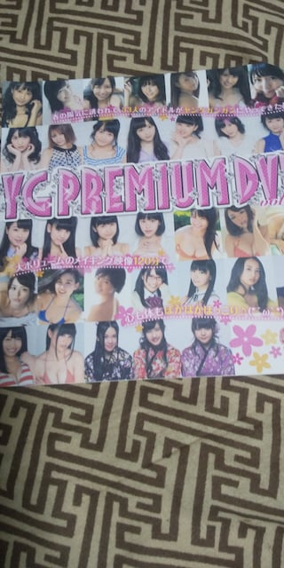 YG PREMIUM DVD★松井玲奈/渡辺麻友/大場美奈■ヤングガンガン付録  < タレントグッズの