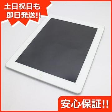●美品●iPad第4世代Wi-Fi16GB ホワイト●
