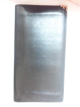 11652/フェラガモ★定価5万円確実本物ブラックレザー革の長財布です