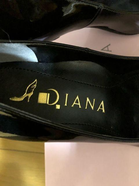 ◎DIANA(ダイアナ)◎ルフリー●エナメルパンプス♪黒 < ブランドの