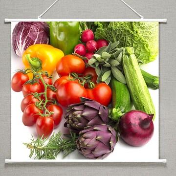 タペストリー果実と野菜 106 サイズ91×85cm 新品
