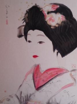堂本印象 舞妓の図
