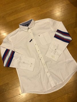 TOMMY HILFIGER  長袖シャツ  大きいsizeXXL→XL