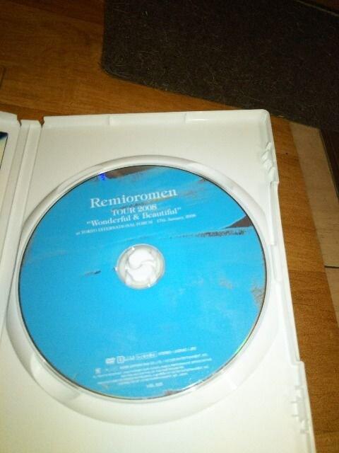送無 DVD レミオロミン 2008y 東京国際フォーラム ライヴWonderful&Beautiful < タレントグッズの