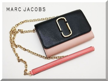MARC JACOBS☆マークジェイコブス チェーンウォレット クラッチバッグ