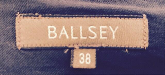 BALLSEY*レディーススカート*バイカラー*ブラック×ベージュ < ブランドの