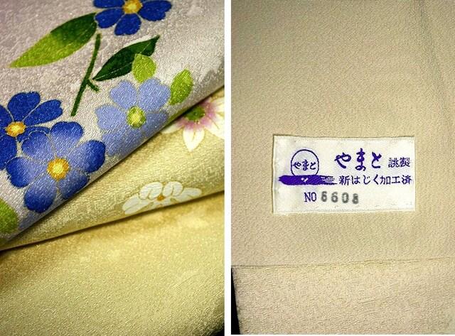 【最高級】新品同様 銀通し やまと誂製 上品な訪問着 T1574 < 女性ファッションの