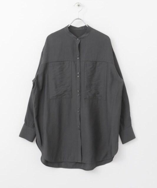 KBF☆ポケットデザインロングシャツ
