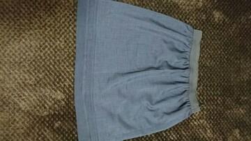 M / 紺いろスカート