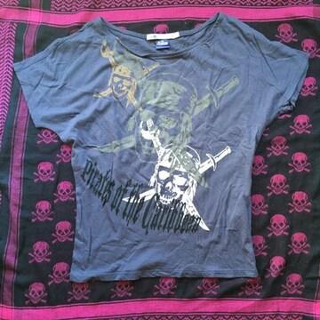 ユニクロ×ディズニー パイレーツオブカリビアン Tシャツ N2m