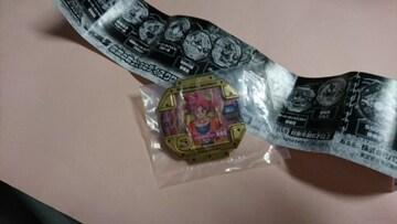 ドラゴンボール★大当りゴールドデスクロス★スーパーサイヤ人ゴッド孫悟空★3900