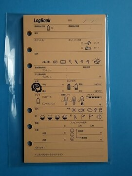 ☆RF01 カラーログレフィル・6穴タイプ・枇杷(びわ)☆新品☆