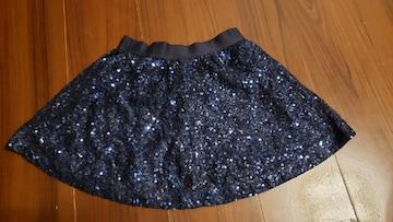 ★GapKids★キラキラスパンコールスカート★サイズ120★