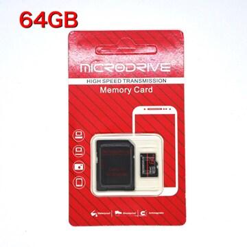 マイクロSDカード 64GB microSDHCカード microSD class10
