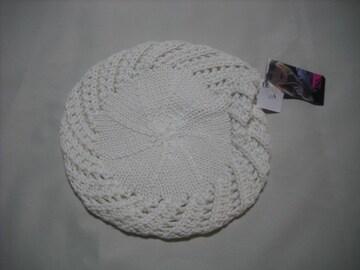 wb232 女 BILLABONG ビラボン ウールニット帽 ベレー