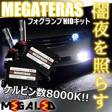 mLED】ランドクルーザープラド120/フォグランプHIDキット/HB4/8000K