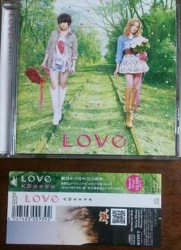 (CD)Love/ラブ/ラヴ☆大切なキモチ★帯付き♪フルアルバム♪即決価格♪
