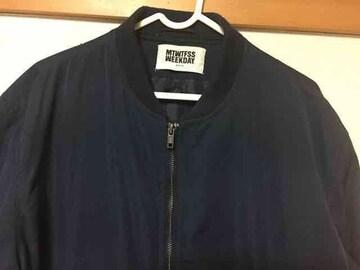 MTWTFSS Weekday ネイビー M1 jacket
