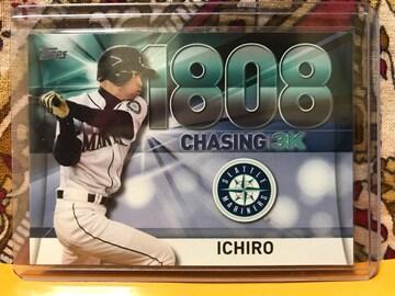 イチロー カード 2016 Topps Chasing 3K 3000-18