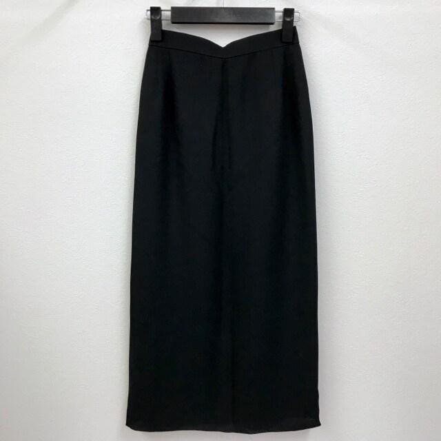 タイトスカート バックボタン レトロ アンティーク 古着  < 女性ファッションの