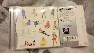 globe「8YEARS Many Classic Moments」帯付