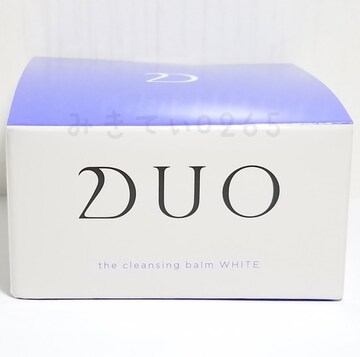 ☆Duo☆ザ クレンジングバーム ホワイト 90g 新品未開封