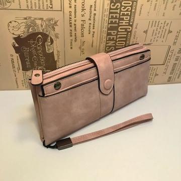 大人気 可愛い 二つ折り 長財布 新品未使用 ピンク めちゃ安い