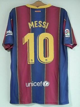 新品☆メッシ☆バルセロナ☆赤青10番半袖N☆アルゼンチン代表