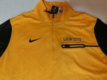 Nike Oregon Webfoots Elite Coaches Half-Zip Tops US XL