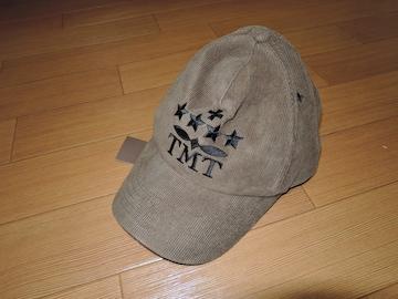 新品TMT CLASSICコーデュロイ キャップKロゴ星☆刺繍ステッチ
