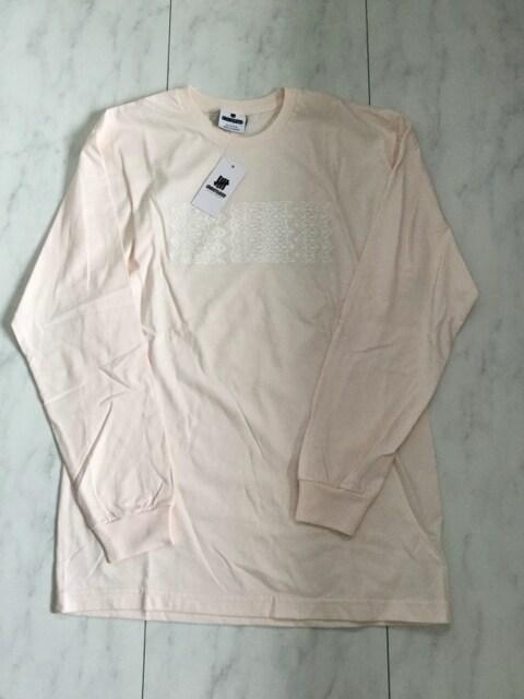 新品 undefeated ロングTシャツ ロンT ピンク < ブランドの