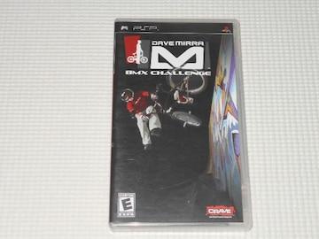PSP★DAVE MIRRA BMX CHALLENGE 海外版(国内本体動作可能)