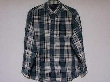 即決USA古着ROUNDTREE&YORKEチェックデザインネルシャツ!アメカジヴィンテージ