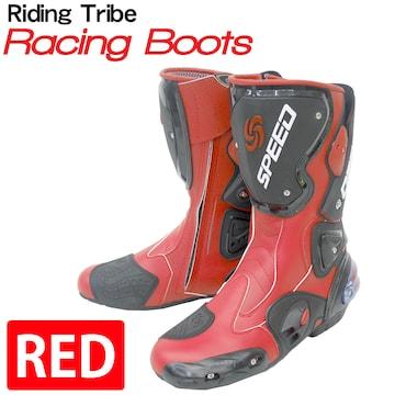 Riding Tribe レーシングブーツ バイク用 RPB-RD 45 27.5cm