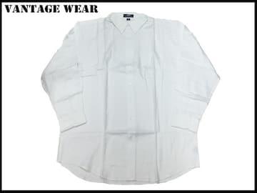 新 【ワイト色-XL】Vantage長袖シャツアメリカ輸入品