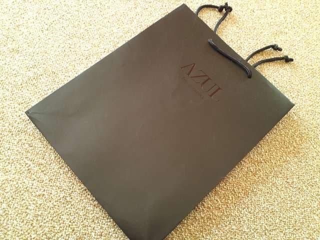≪moussy≫ マウジーAZULショップ袋  < ブランドの