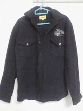Fー79★men'sカジュアルジャケット ネイビー S