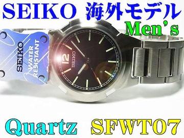 新品 SEIKO(セイコー)海外モデル 紳士ウォッチ SFWT07