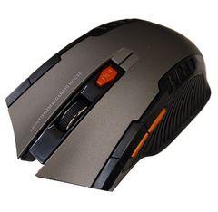 マウス  ワイヤレスマウス パワーゲイザー  USB  6ボタン