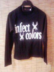 メンエグ infectcolors   ロンT   サイズS