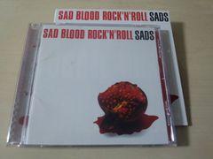 SADS CD「SAD BLOOD ROCK'N'ROLL」サッズ 黒夢 清春 初回盤●