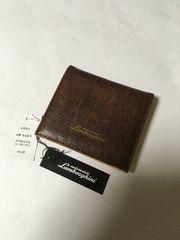 新品大特価!ランボルギーニ  折財布