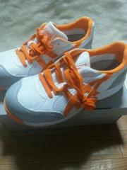 送料込★アシックス安全靴『33白×オレンジ』25.5cm