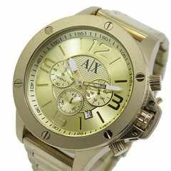 アルマーニ エクスチェンジ クオーツ クロノ 腕時計 AX1504