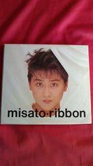 ☆中古CDアルバム【『ribbon』渡辺美里】全11曲です/送料180円